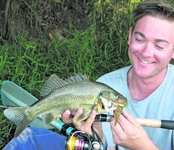 Joel Petzke has unlocked many local bass secrets and he prefers big heavy spinnerbaits.