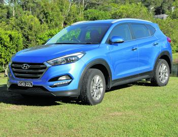 Looking like a mini Santa Fe, the new Tucson carries Hyundai into 2016 and beyond with considerable road presence.