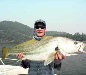 Quality mulloway will be on offer this month for those fishing the prime times of dawn, dusk and throughout the night.
