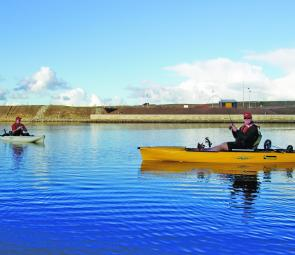 A properly laid out kayak makes the whole fishing process easier.