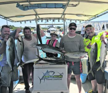 Cape Otway kingfish are a hit this month.