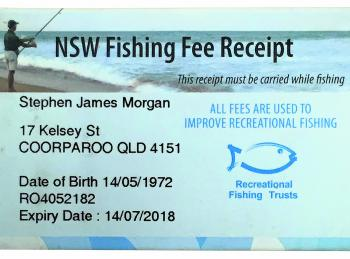 In NSW, all the money raised by the Recreational Fishing Fee is spent on improving recreational fishing.
